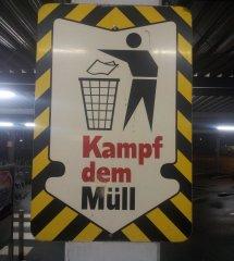 Kampf dem Müll