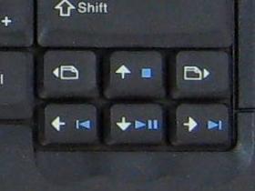 Tastatur des Thinkpad T61 mit den nützlichen Page-Tasten